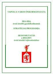 Stratégiai Program - Tapolca