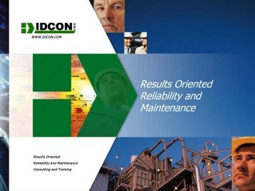 Results Oriented Reliability and Maintenance, Results ... - tappi