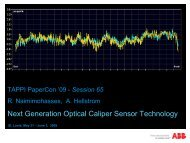 Next Generation Optical Caliper Sensor Technology - tappi