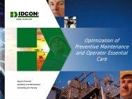 Operator Essential Care and Preventive Maintenance - tappi