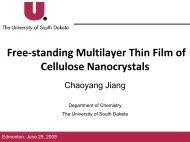 Free-standing Multilayer Thin Film of Cellulose Nanocrystals - tappi
