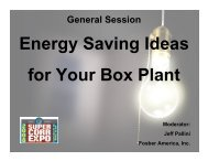 Energy Saving Ideas for Your Box Plant - tappi