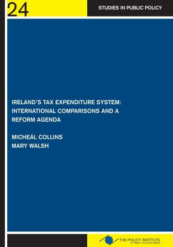 Policy Inst Irelands Tax Expend System Nov 2010.pdf