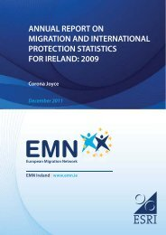 annual report on migration and international protection statistics for ...