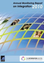 Annual Monitoring Report on Integration 2010 - TARA - Trinity ...