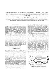 ofdm sub-carrier allocation algorithm for a multiple user data ...