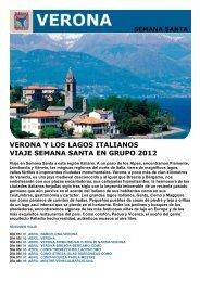 verona y los lagos italianos viaje semana santa en ... - Viajes Tarannà