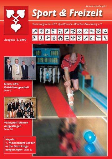 PDF 2/2009 - ESV Neuaubing