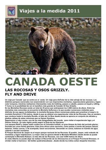 CANADA OESTE - Viajes Tarannà