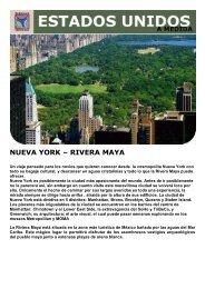 NUEVA YORK – RIVERA MAYA - Viajes Tarannà