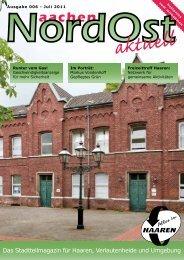 Nordost aktuell - Ausgabe 006 - Juli 2011 - Euregio-Aktuell.EU