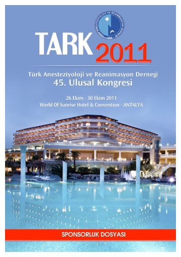 45.TARK 2011 SPONSORLUK DOSYASI - TARD
