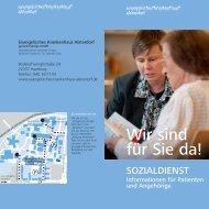 Sozialdienst - Evangelisches Krankenhaus Alsterdorf