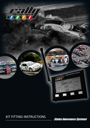 RallySafe Fitting Instructions - Targa West