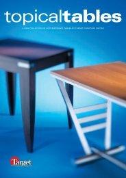 *00644 target tables - Target Furniture Ltd