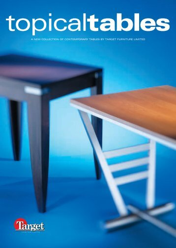 *00644 target tables - Target Furniture Ltd