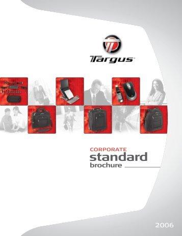 Corporate Standard Brochure - Targus