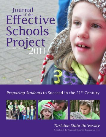 Journal of the Effective Schools Project - Tarleton State University