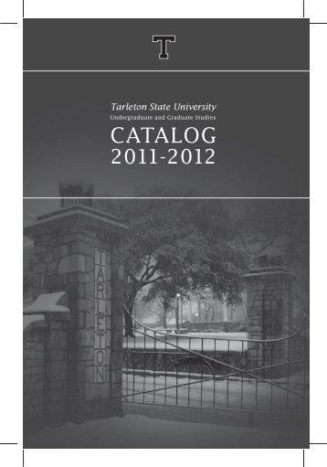 CATALOG - Tarleton State University