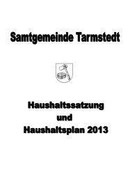 Ergebnis - Samtgemeinde Tarmstedt