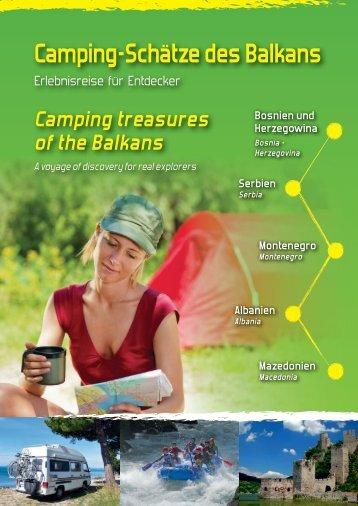 Camping-Schätze des Balkans - Camping Association of Serbia