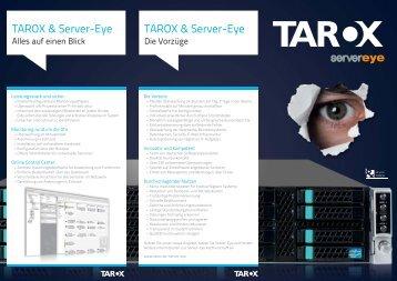 finden Sie unsere aktuelle TAROX & Server-Eye Broschüre