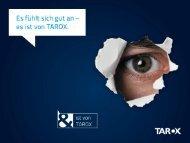 TAROX Vorstellung