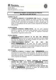 OVP 27 DE JUNY - Ajuntament de Tarragona