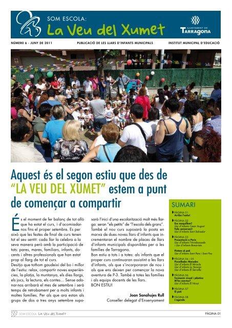 Número 6 - juny 2011 - Ajuntament de Tarragona
