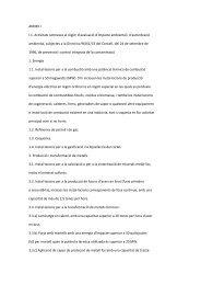 Activitats sotmeses al règim d'avaluació d'impacte ambiental i d ...