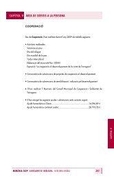 Capítol 5 - Àrea de Serveis a la Persona - Ajuntament de Tarragona