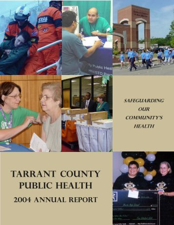 2004 Annual Report -online vsn - Tarrant County