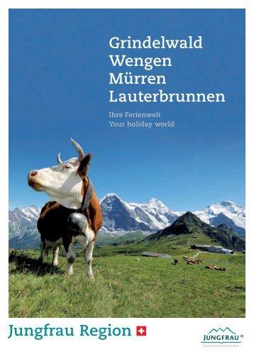 Grindelwald Wengen Mürren Lauterbrunnen
