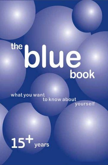 The Blue Book - TARSHI