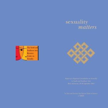 sexuality matters.pdf - TARSHI