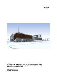 Seletuskiri - Tartu