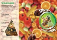 Tervislik toitumine - Tartu