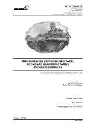 Seletuskiri (12,8MB PDF) - Tartu