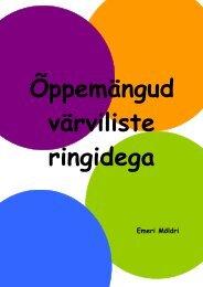 Õppemängud värviliste ringidega (.pdf 0,1Mb) - Tartu