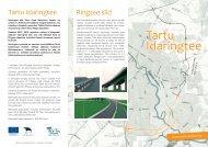 Idaringtee ehitust tutvustav voldik (pdf) - Tartu