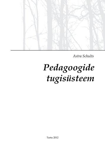 Pedagoogide tugisüsteem 2012 - Tartu
