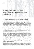 Pedagoogide tugisüsteem 2012 - Tartu - Page 7