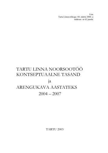 PDF, 196KB - Tartu