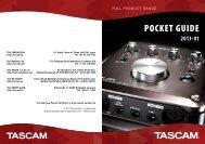 2013-01 - Tascam