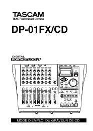 DP-01FX/CD - Tascam