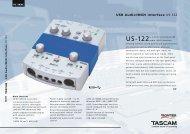 US-122 - Tascam