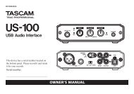 Tascam us-100 USB Audio & Midi Interface - CDROM2GO.com