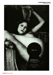 Art World Magazine Art World Magazine (China) Date ... - Taschen