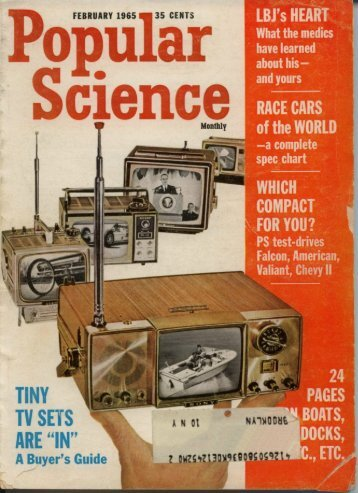 Poular Science February 1965