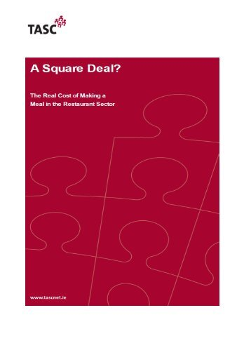 Square Deal? - Tasc